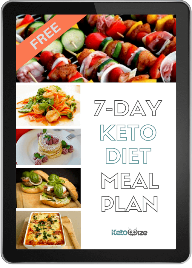 7-Day Keto Diet Meal Plan