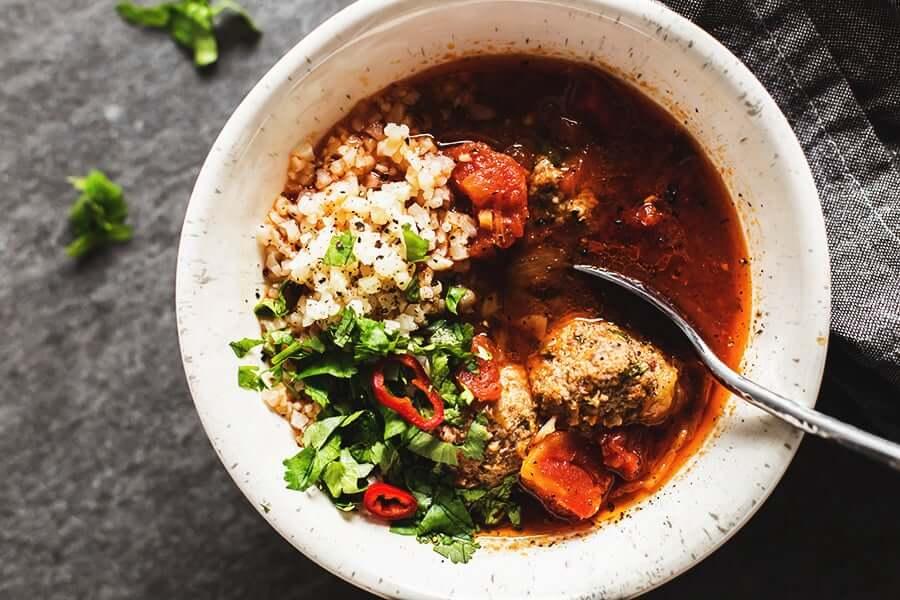 Albondigas Soup (Mexican Meatball Soup)