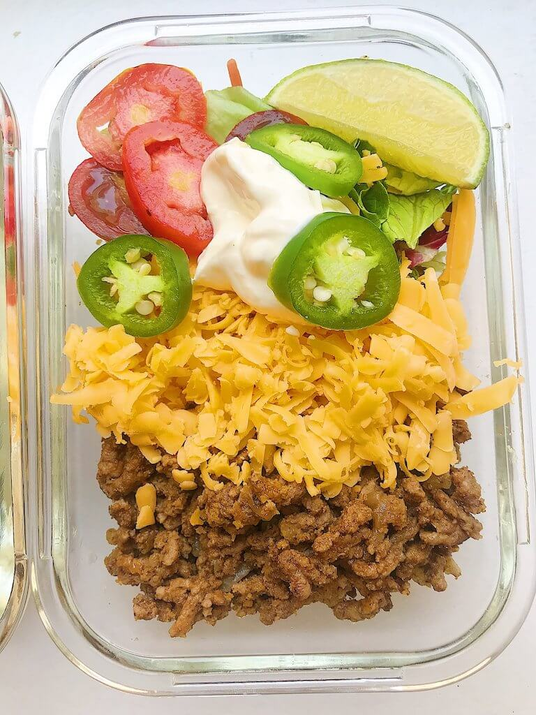 Easy Keto Taco Salad