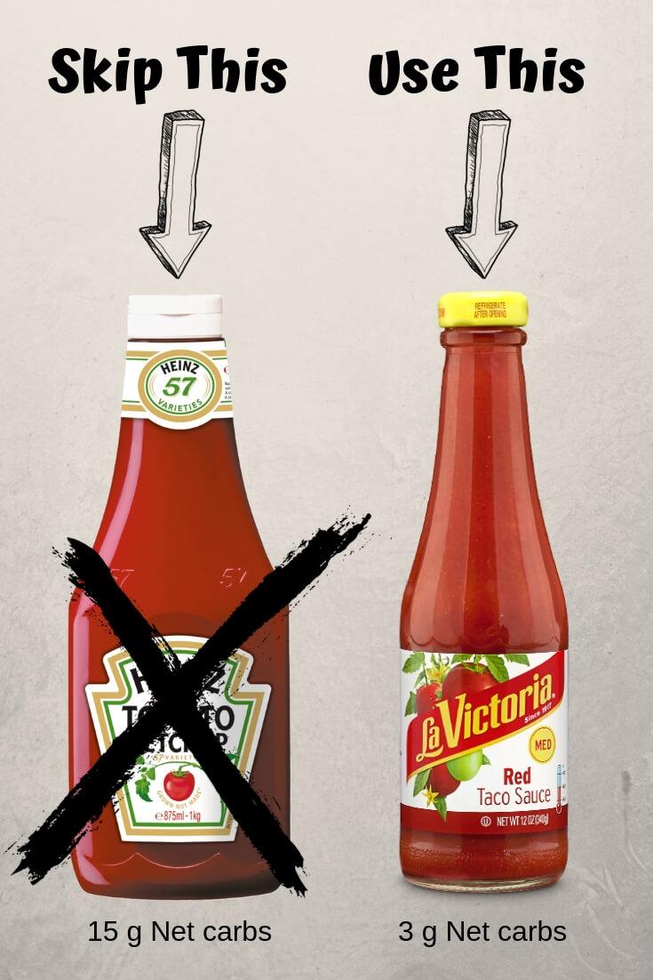 Ketchup vs. Taco Sauce