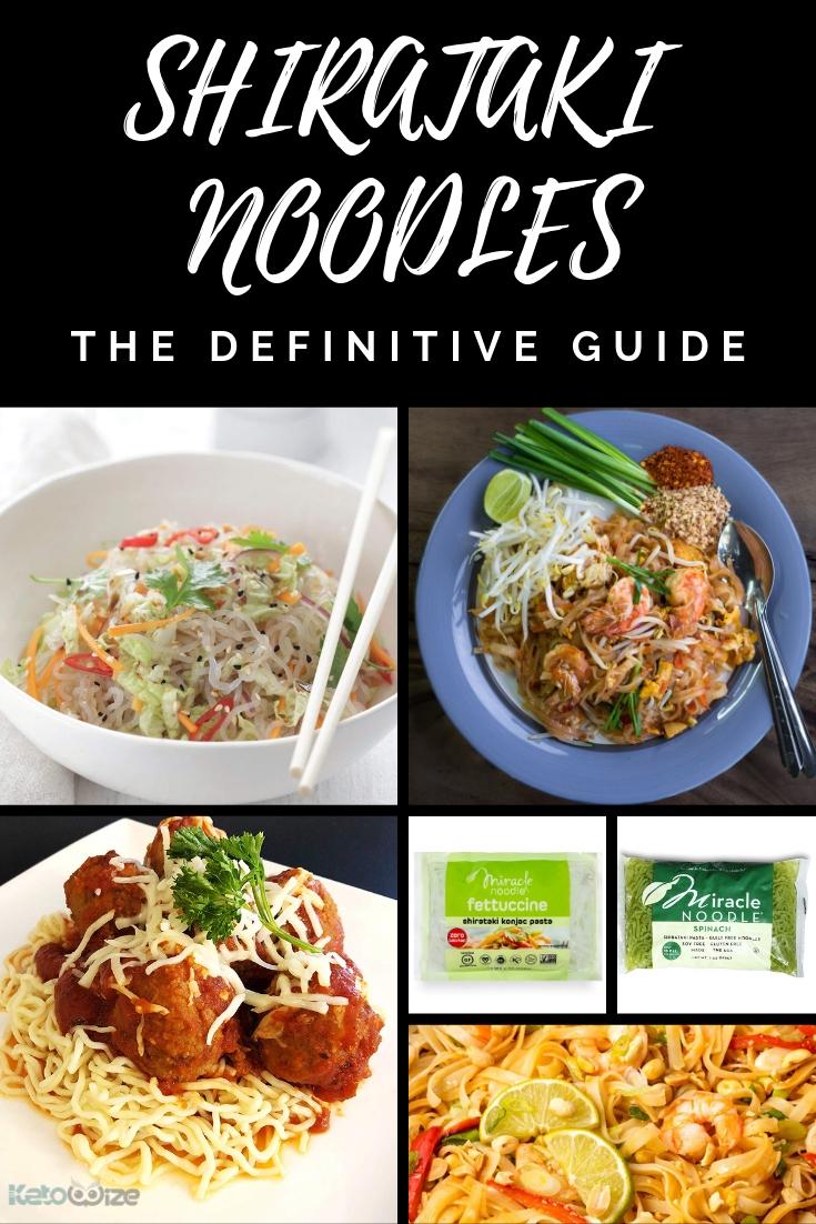 Shirataki Noodles: The Definitive Guide