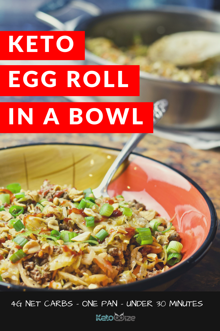 Keto Egg Roll In A Bowl Recipe