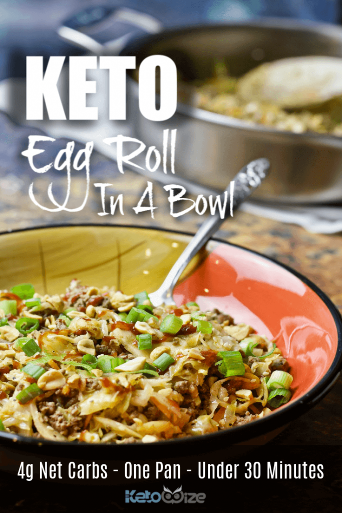 Keto Egg Roll In A Bowl Pinterest 2