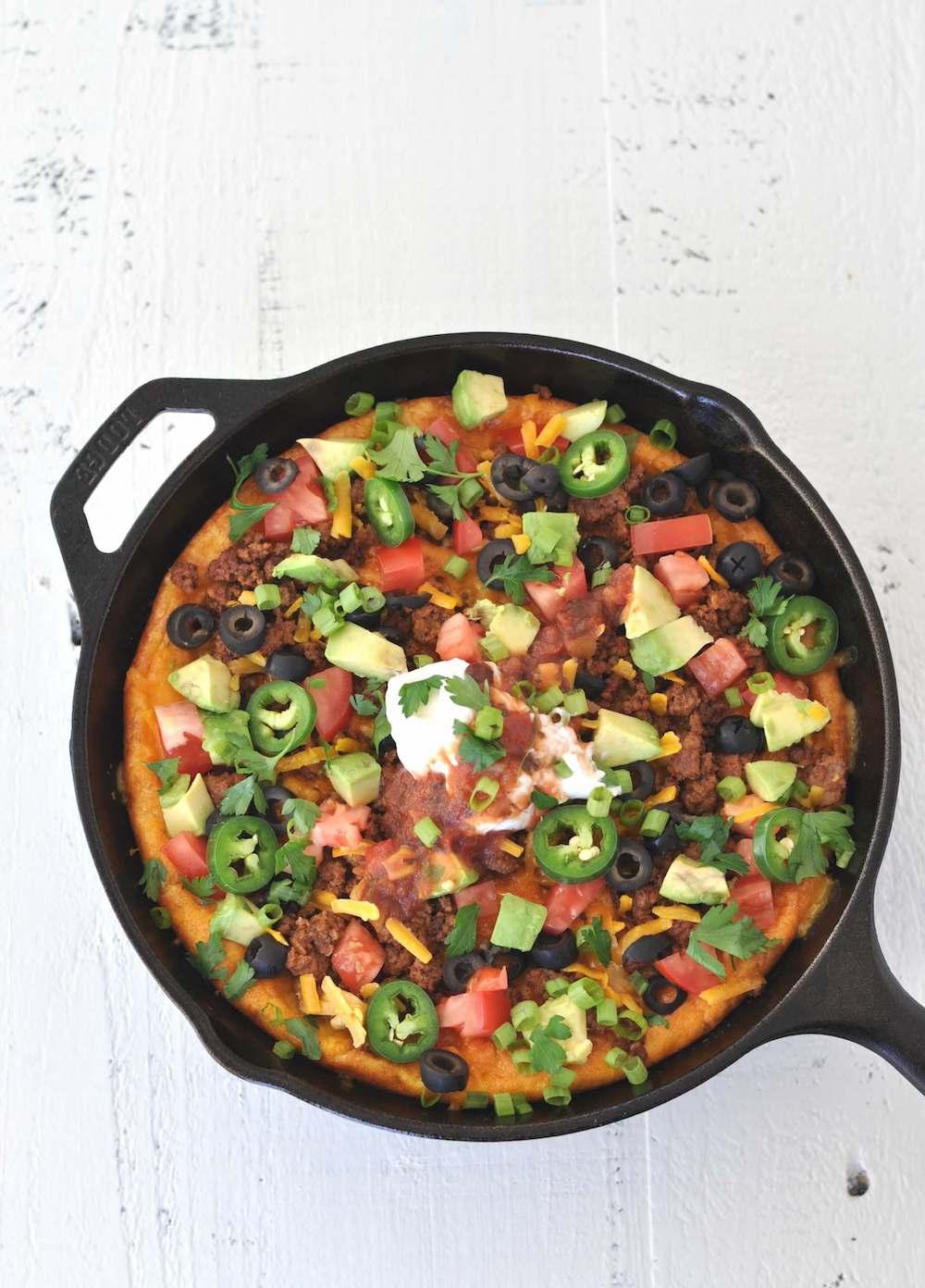 Keto Breakfast Recipes - Keto Taco Breakfast Skillet