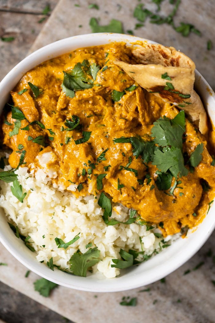 Paleo Keto Butter Chicken