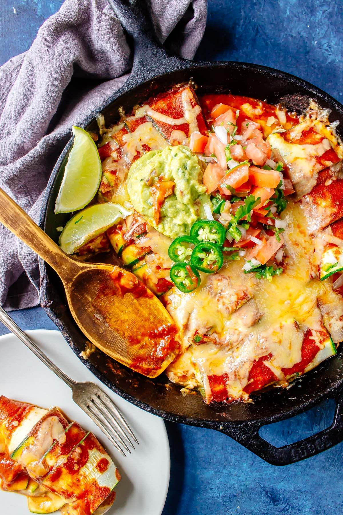 keto chicken enchiladas