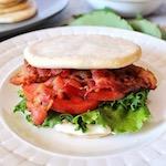Keto Classic BLT Sandwich Recipe Square