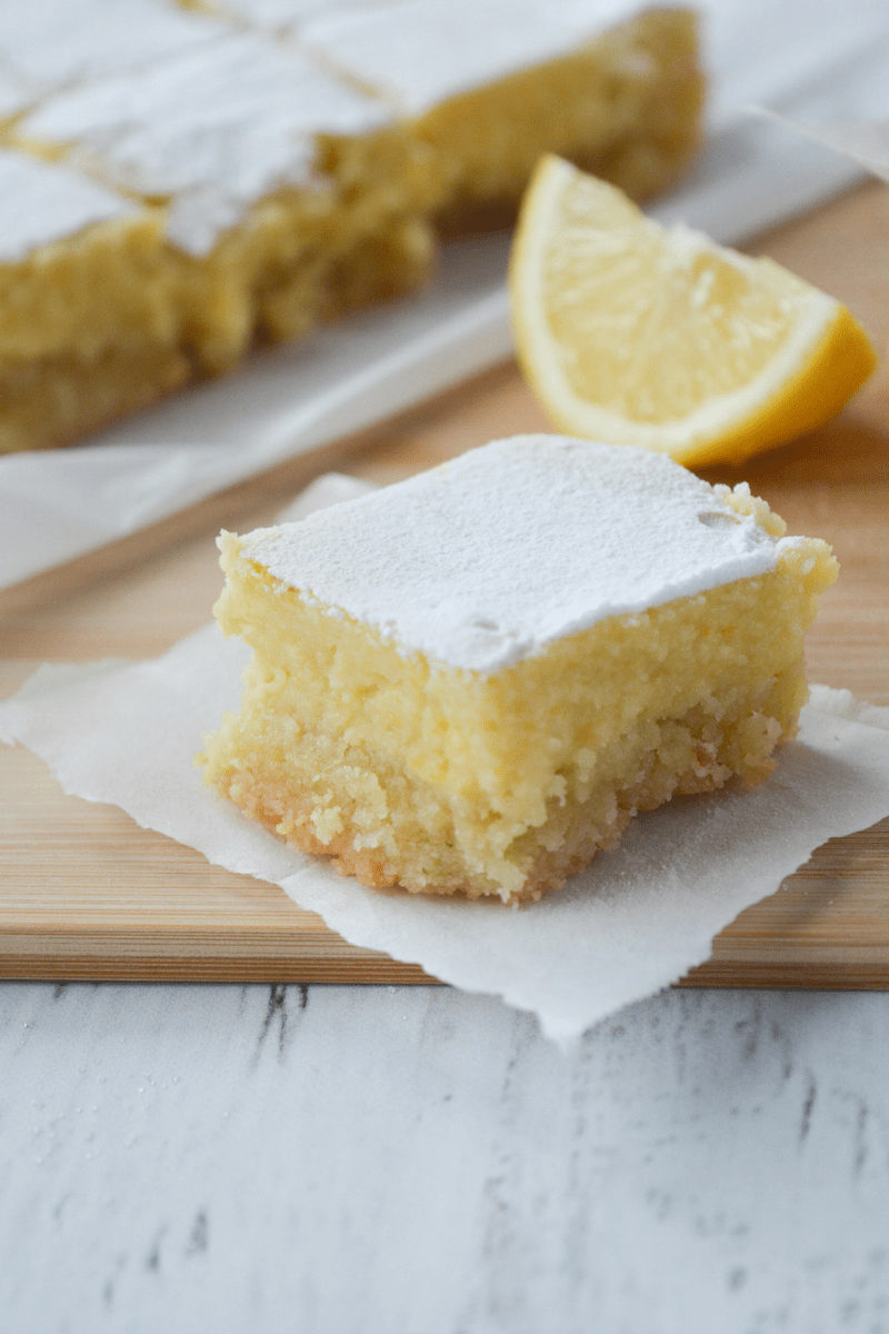These Keto lemon bars make the perfect Keto dessert recipe
