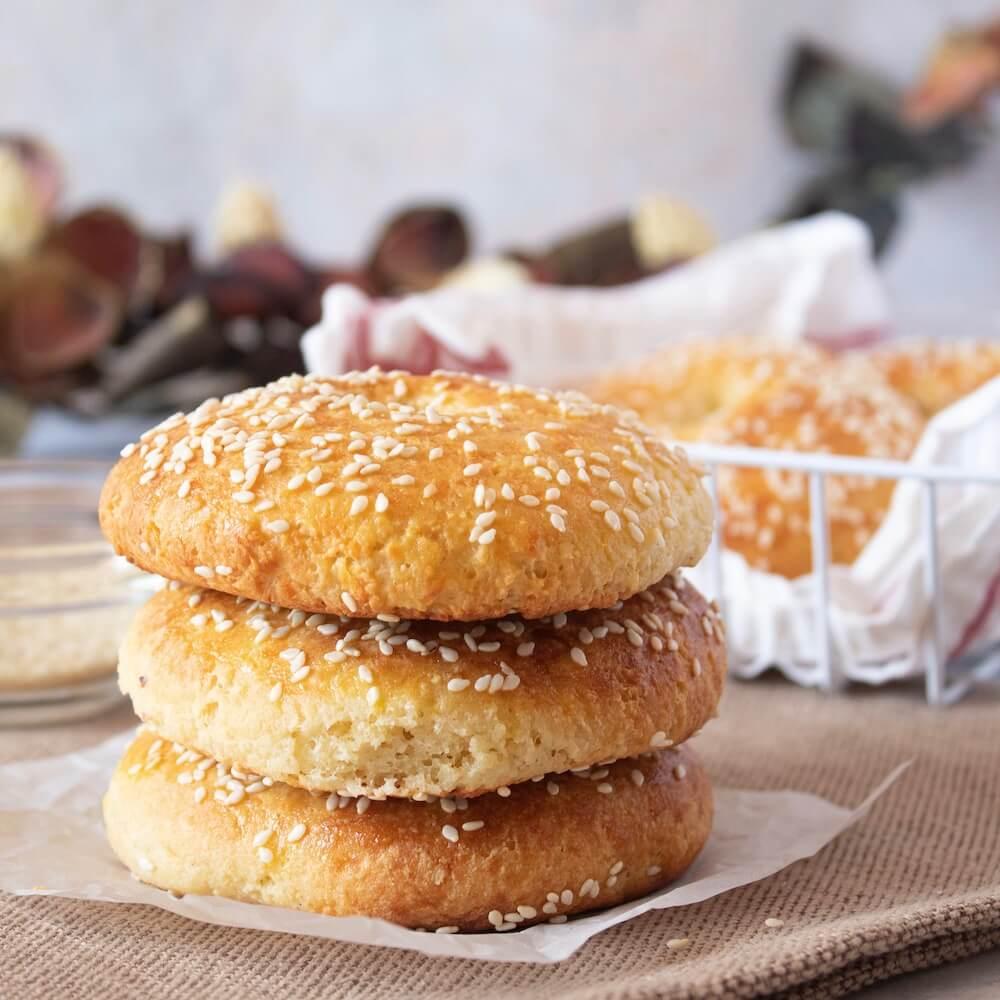 Low Carb Keto Sesame Bagel Recipe
