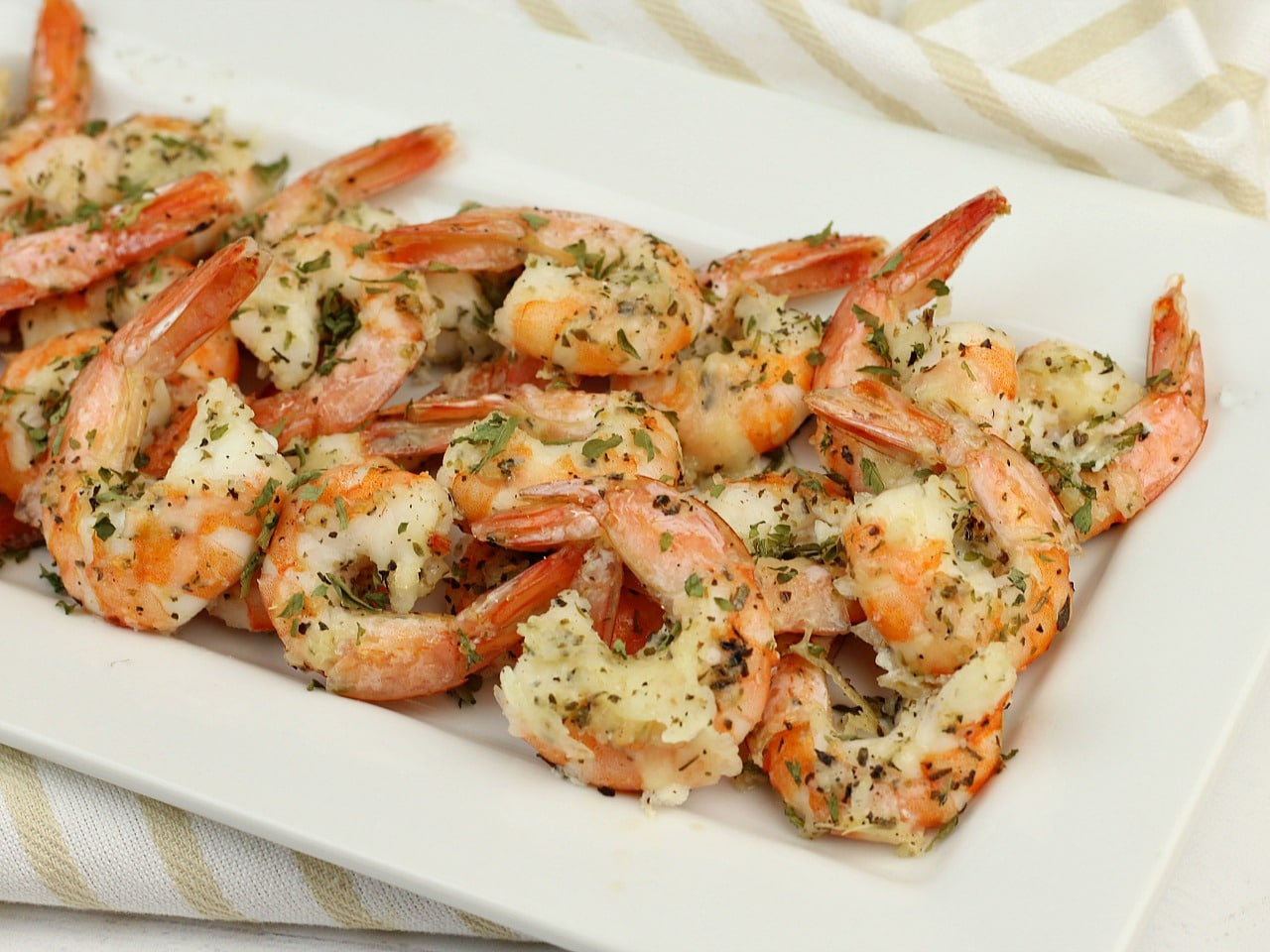 Garlic Parmesan Shrimp Low Carb Recipe