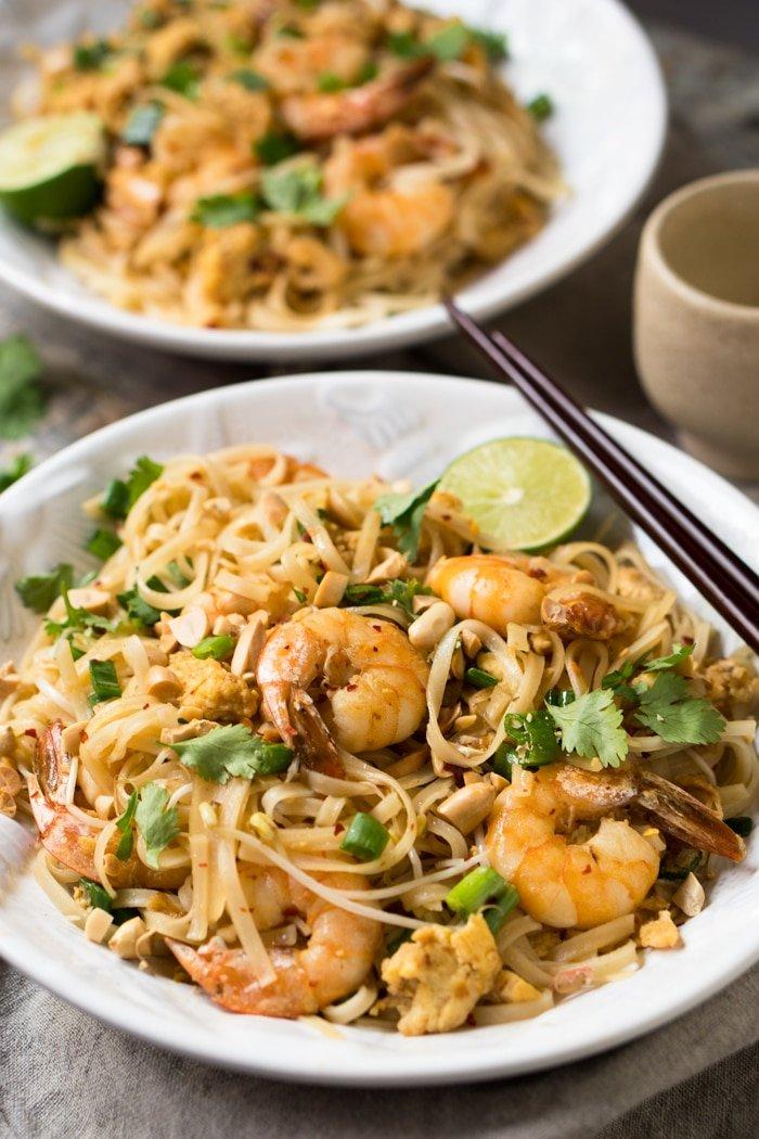 Paleo Keto Pad Thai Shirataki Noodles