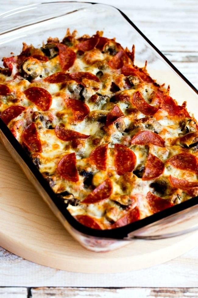 Low-Carb Deconstructed Pizza Casserole - Easy Keto Dinner Recipe